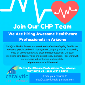 Catalytic Health Partners - We are Hiring!